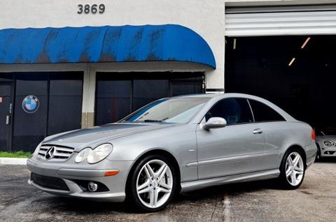2009 Mercedes-Benz CLK for sale in Hollywood, FL