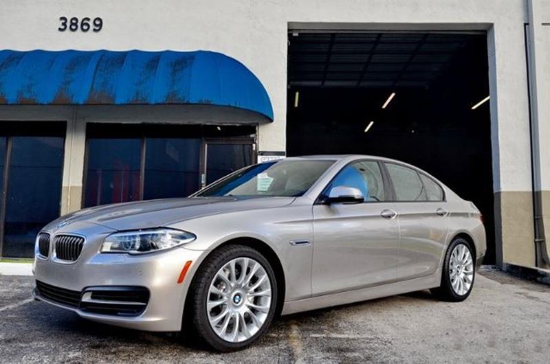 Bmw Series I Dr Sedan In Hollywood FL ALWAYSSOLD INC - 2014 bmw 535i price