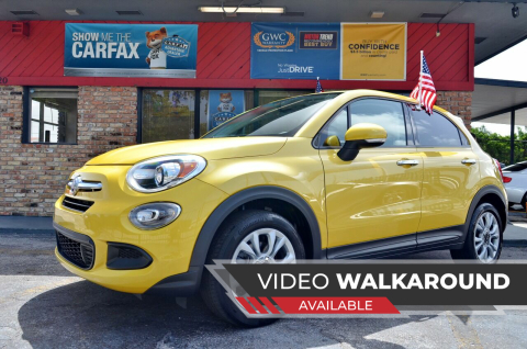 2016 FIAT 500X for sale at ALWAYSSOLD123 INC in North Miami Beach FL