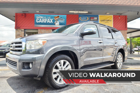 2011 Toyota Sequoia for sale at ALWAYSSOLD123 INC in North Miami Beach FL