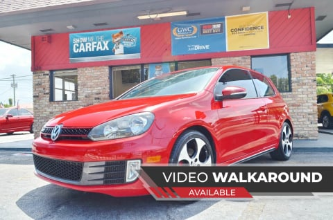 2012 Volkswagen GTI for sale at ALWAYSSOLD123 INC in North Miami Beach FL