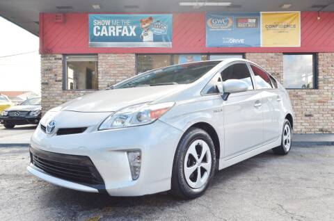 2015 Toyota Prius for sale at ALWAYSSOLD123 INC in North Miami Beach FL