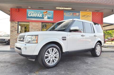 2011 Land Rover LR4 for sale at ALWAYSSOLD123 INC in North Miami Beach FL