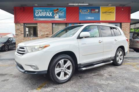 2011 Toyota Highlander for sale at ALWAYSSOLD123 INC in North Miami Beach FL