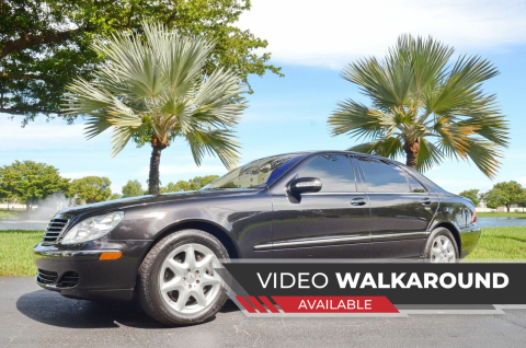 2006 Mercedes-Benz S-Class for sale at ALWAYSSOLD123 INC in North Miami Beach FL