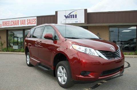 2014 Toyota Sienna for sale at LaBelle Sales & Service in Bridgewater MA
