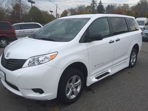 2015 Toyota Sienna for sale at LaBelle Sales & Service in Bridgewater MA