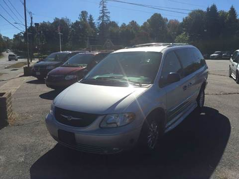 2003 Chrysler Town and Country for sale at LaBelle Sales & Service in Bridgewater MA