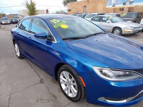 2015 Chrysler 200 for sale in Toledo, OH