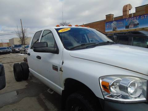 2008 Dodge Ram Chassis 3500 for sale in Toledo, OH