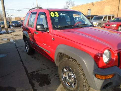 2003 Jeep Liberty for sale in Toledo, OH