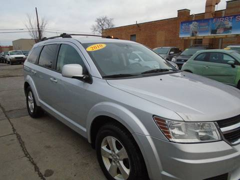 2010 Dodge Journey SXT for sale at First Step Auto Finance in Toledo OH