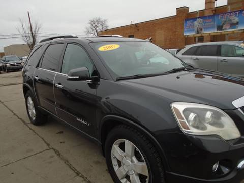 2007 GMC Acadia SLT-2 for sale at First Step Auto Finance in Toledo OH