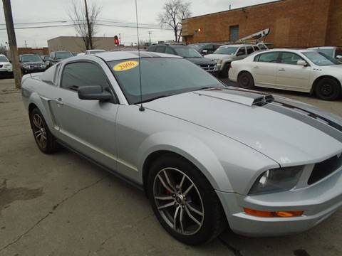 2006 Ford Mustang V6 Standard for sale at First Step Auto Finance in Toledo OH