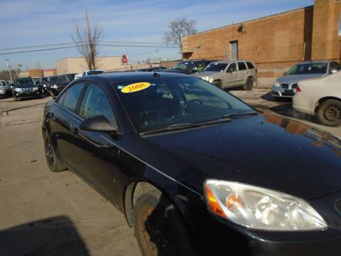 2008 Pontiac G6 for sale at First Step Auto Finance in Toledo OH