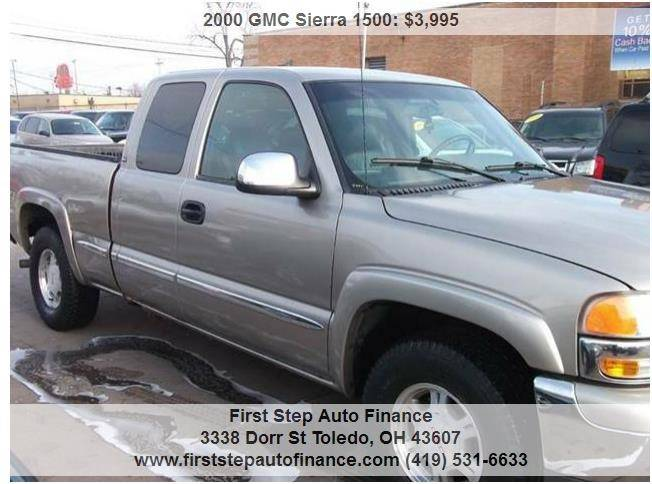 2000 GMC Sierra 1500 3dr SL 4WD Extended Cab LB - Toledo OH