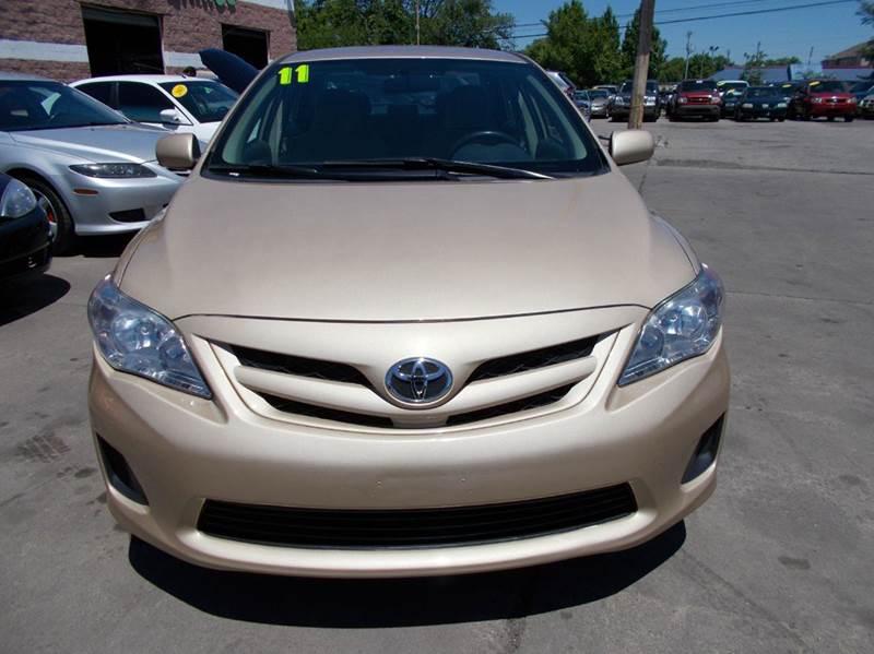 2011 Toyota Corolla LE 4dr Sedan 4A - Toledo OH