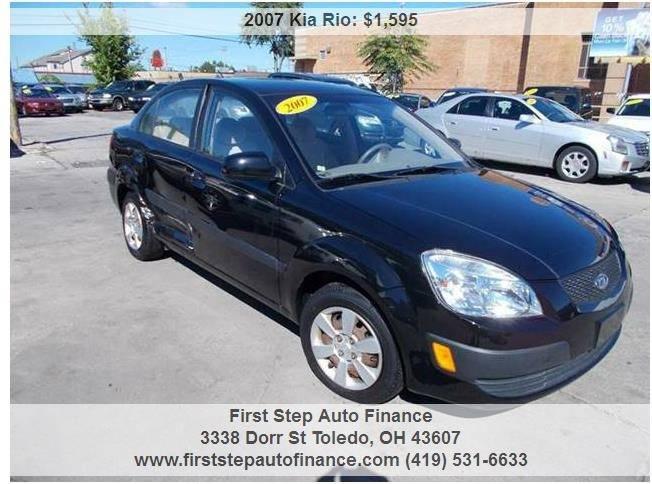 2007 Kia Rio LX 4dr Sedan (1.6L I4 4A) - Toledo OH
