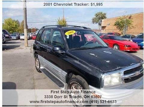 2001 Chevrolet Tracker for sale in Toledo, OH