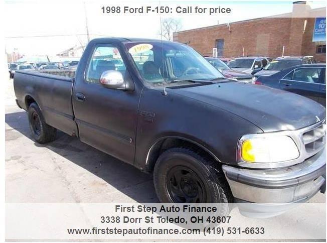 1998 Ford F-150 2dr Standard Cab LB - Toledo OH