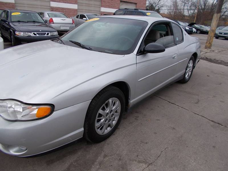 2001 Chevrolet Monte Carlo LS 2dr Coupe - Toledo OH