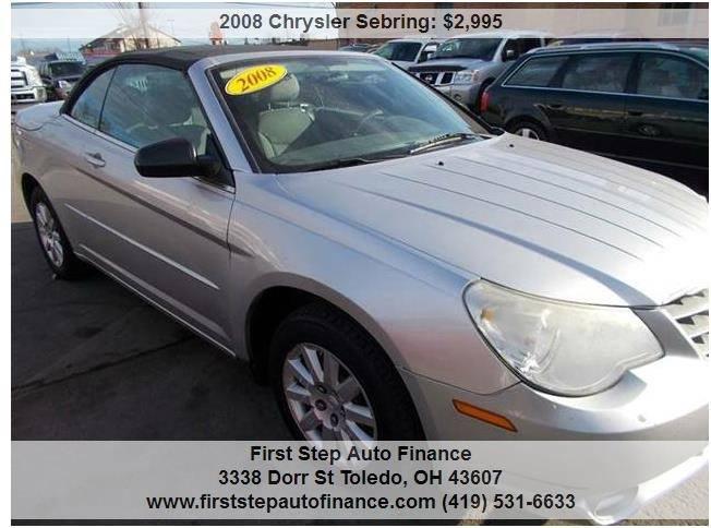 2008 Chrysler Sebring LX 2dr Convertible - Toledo OH