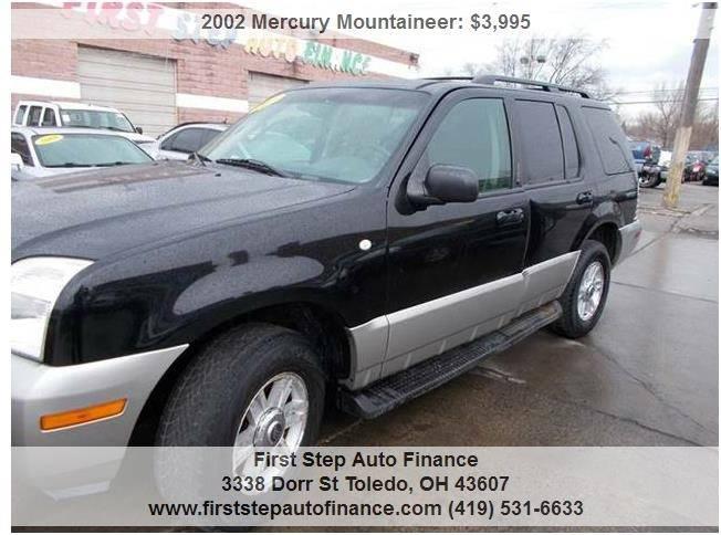 2002 Mercury Mountaineer AWD 4dr SUV - Toledo OH