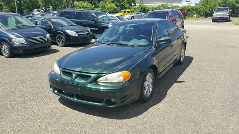 2001 Pontiac Grand Am for sale at ASAP AUTO SALES - 2486 Lot in Muskegon MI