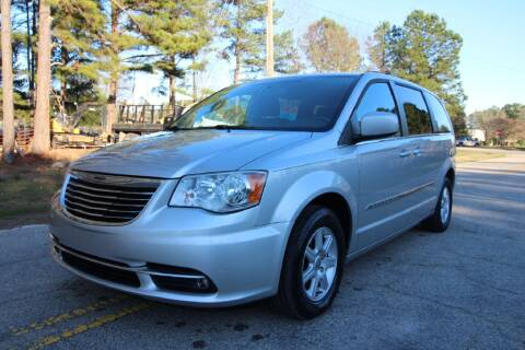2012 Chrysler Town and Country for sale at Oak City Motors in Garner NC