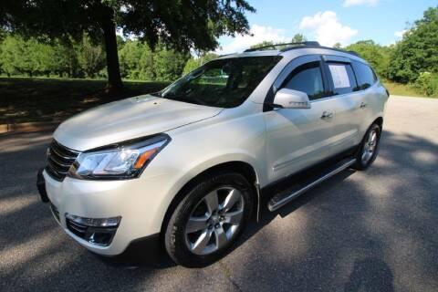 2014 Chevrolet Traverse LTZ for sale at Oak City Motors in Garner NC