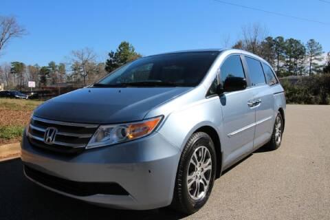 2013 Honda Odyssey for sale at Oak City Motors in Garner NC