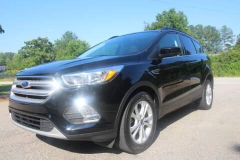 2018 Ford Escape for sale at Oak City Motors in Garner NC