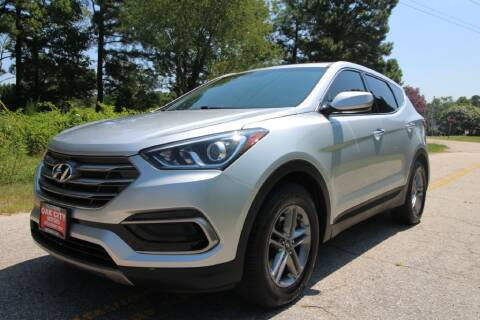 2017 Hyundai Santa Fe Sport for sale at Oak City Motors in Garner NC