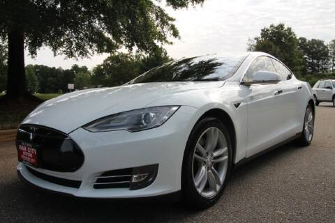 2013 Tesla Model S for sale at Oak City Motors in Garner NC