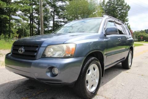 2007 Toyota Highlander for sale at Oak City Motors in Garner NC