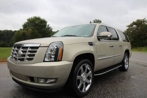 2008 Cadillac Escalade ESV for sale at Oak City Motors in Garner NC
