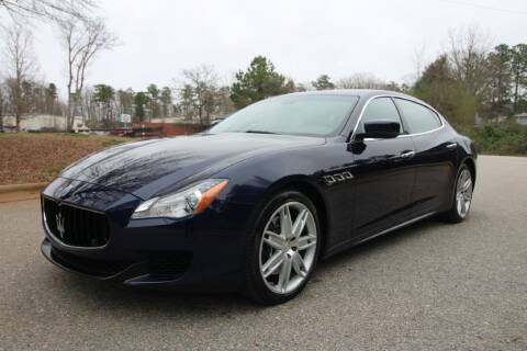 2015 Maserati Quattroporte for sale at Oak City Motors in Garner NC