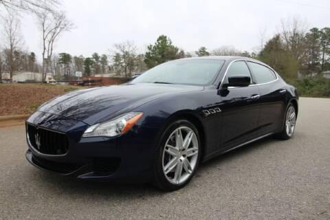 2015 Maserati Quattroporte for sale at Oak City Motors in Garner NC