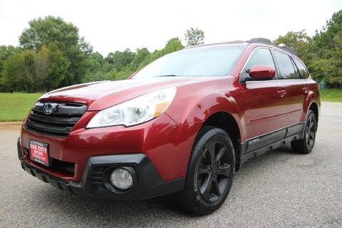 2014 Subaru Outback for sale at Oak City Motors in Garner NC
