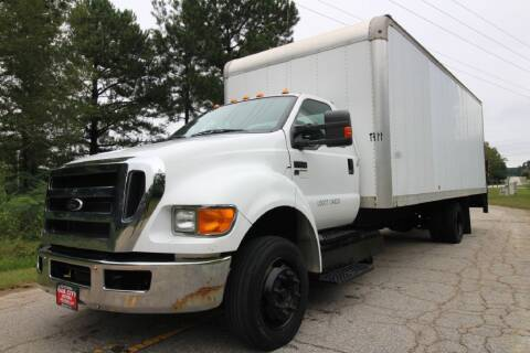 2013 Ford F-650 Super Duty for sale at Oak City Motors in Garner NC