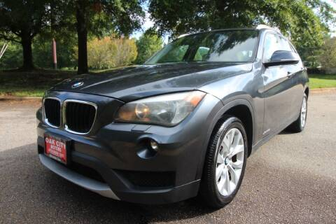 2013 BMW X1 for sale at Oak City Motors in Garner NC