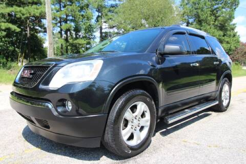 2012 GMC Acadia for sale at Oak City Motors in Garner NC
