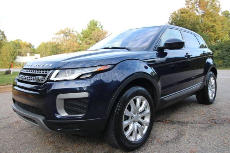 2016 Land Rover Range Rover Evoque for sale at Oak City Motors in Garner NC
