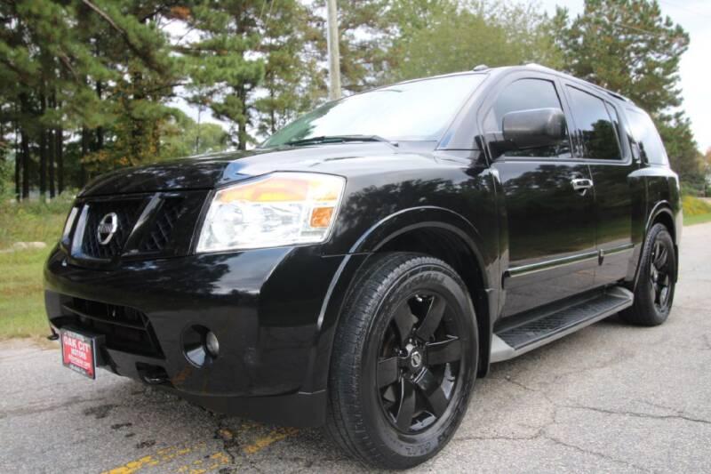 2014 Nissan Armada for sale at Oak City Motors in Garner NC