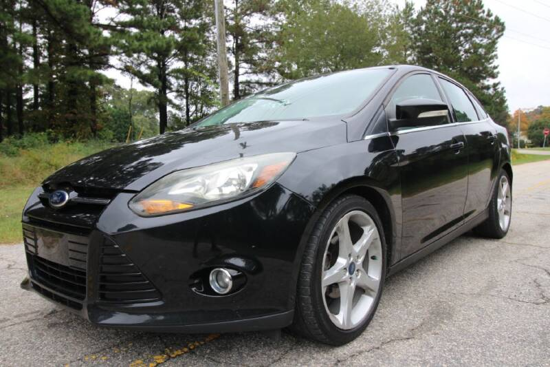 2013 Ford Focus for sale at Oak City Motors in Garner NC