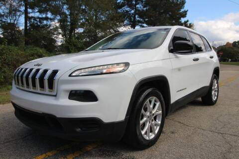 2014 Jeep Cherokee for sale at Oak City Motors in Garner NC