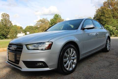 2013 Audi A4 for sale at Oak City Motors in Garner NC
