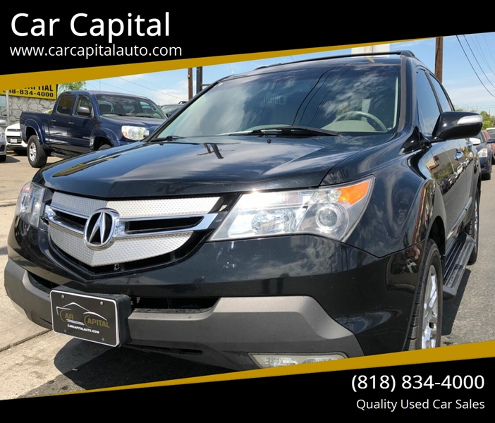 2008 Acura Mdx SH-AWD 4dr SUV W/Technology Package In
