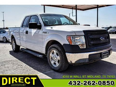2013 Ford F-150 for sale in Midland, TX