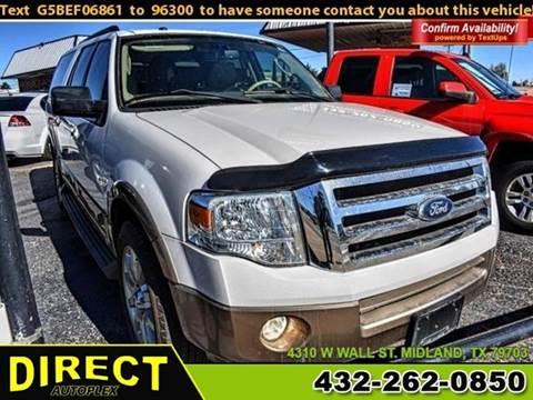2011 Ford Expedition EL for sale in Midland, TX